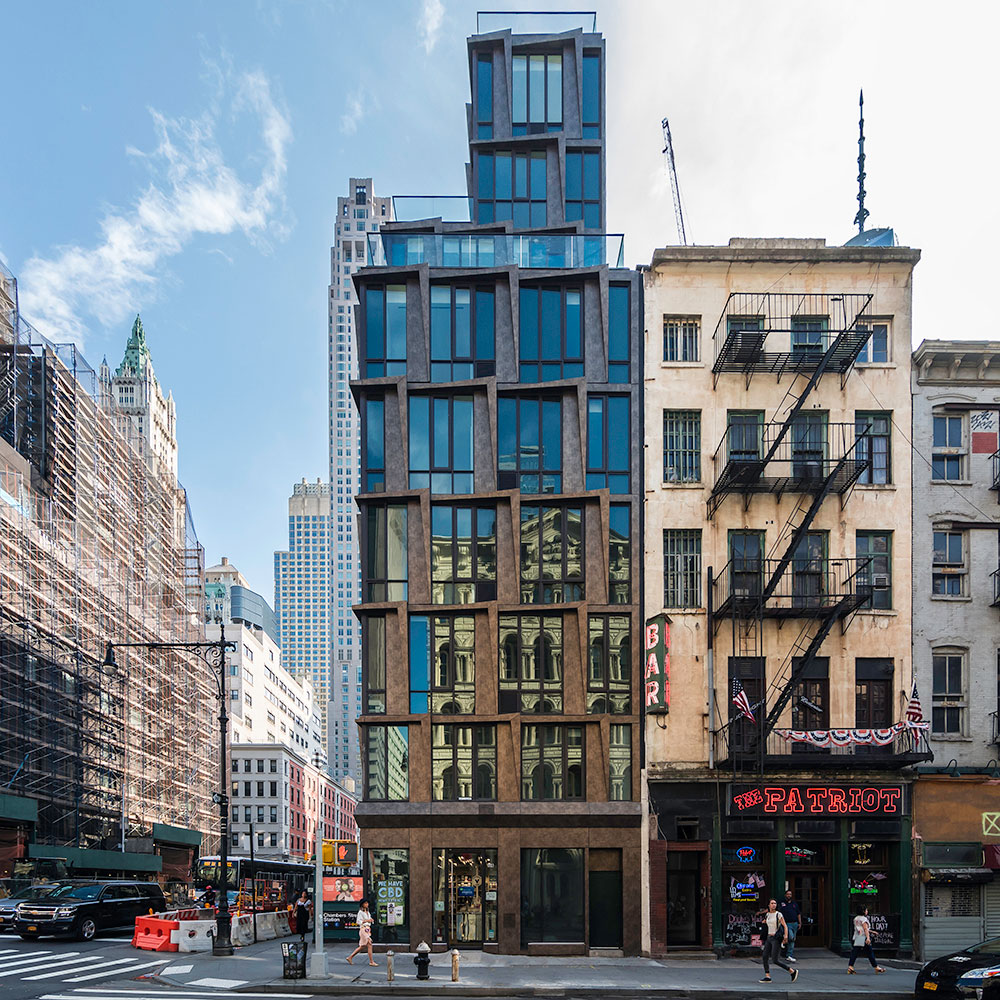 108 Chambers, New York, Woods Bagot, Pure Freeform, Deco Bronze, Brennan Photo Video