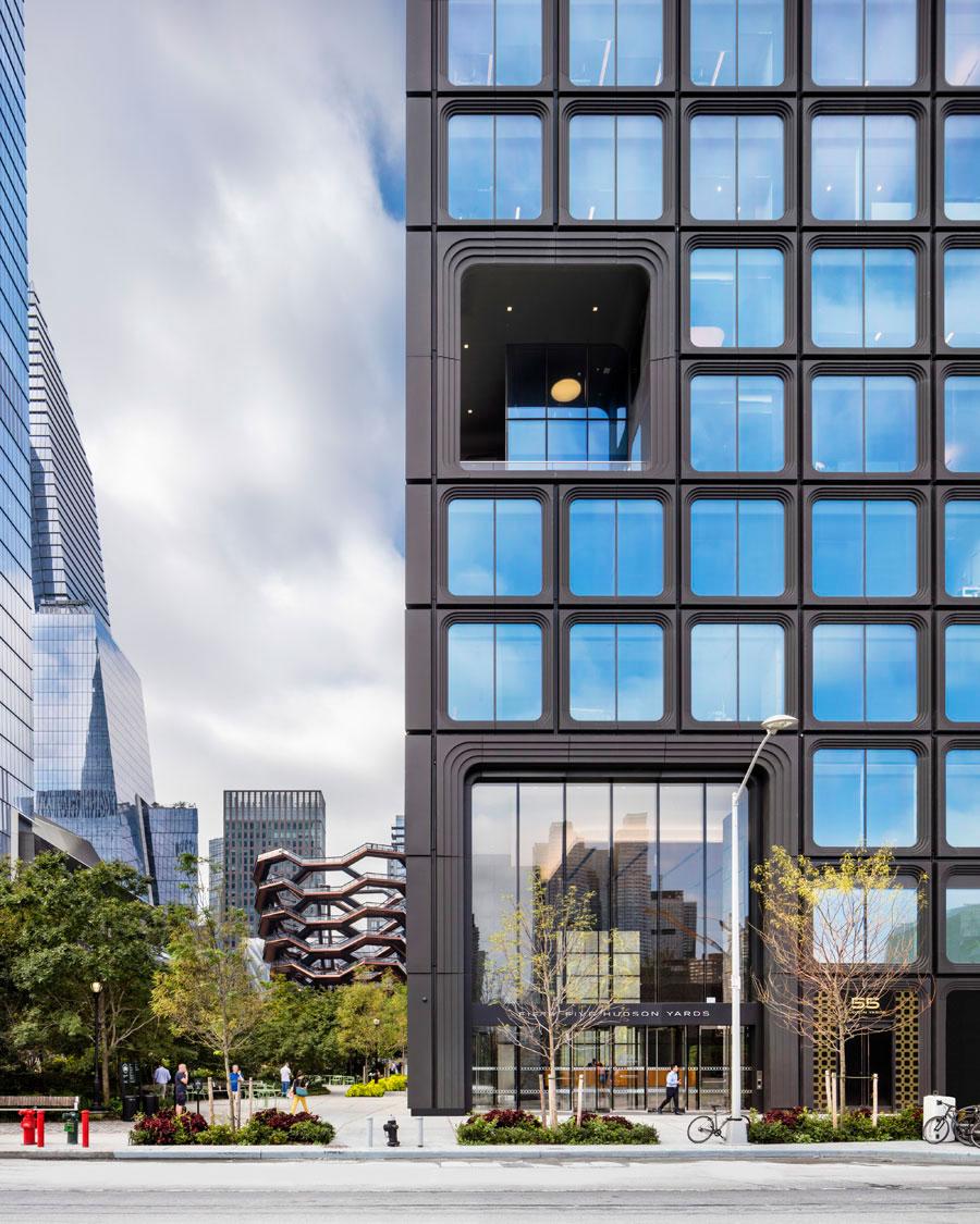 55 Hudson Yards, East Facade, Credit Raimund Koch for KPF