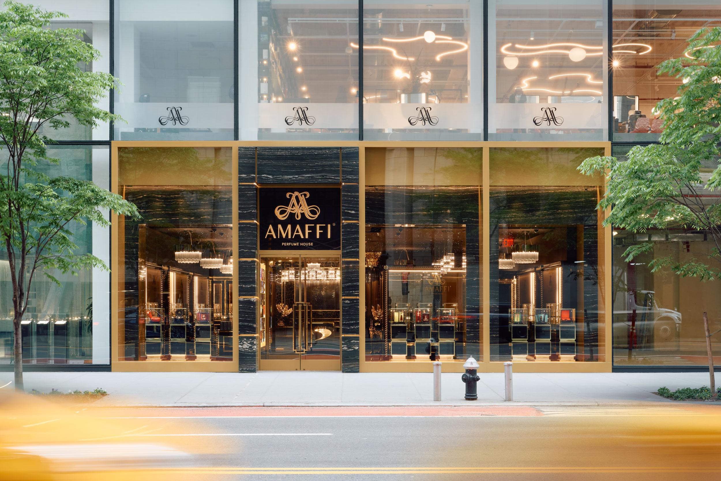 Amaffi Flagship, New York, TPG Architecture, Pure Freeform, Lumiflon USA, REED Photographic
