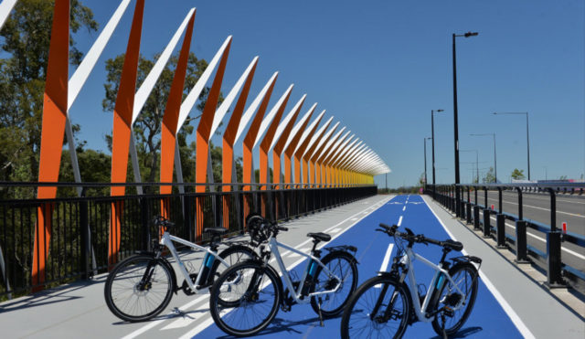 Aura Boulevard Bridge A&I Coatings Vitreflon Caloundra South Queensland Patrick Woods Photography