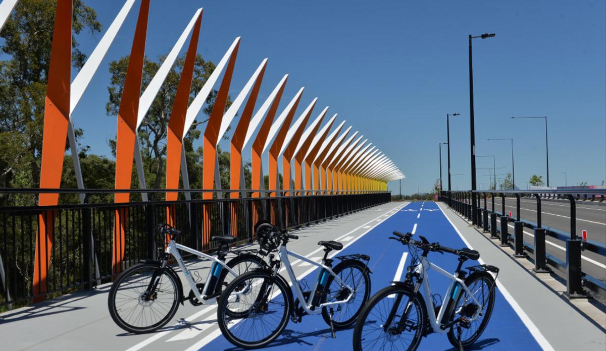 Aura Boulevard Bridge A&I Coatings Vitreflon Caloundra South Queensland Patrick Woods Photography