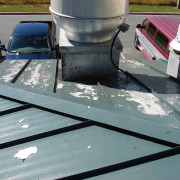 Before LUMIFLON FEVE Resin, Village Harbor Office, All-Tech Decorating Company, Roof Inspection 1