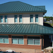 Before LUMIFLON FEVE Resin, Village Harbor Office, All-Tech Decorating Company, Roof Inspection 3