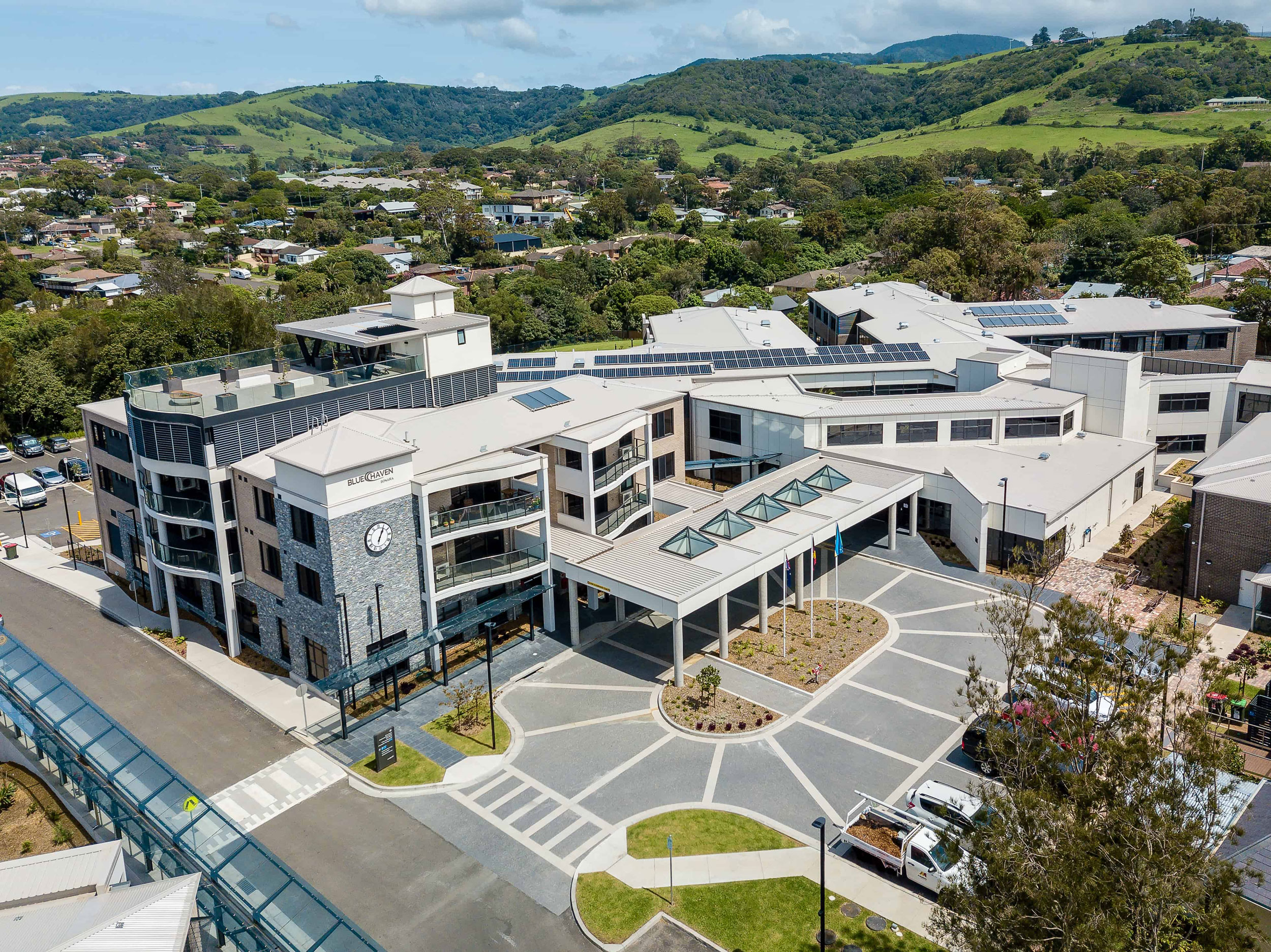 Blue Haven Bonaira Aged Care Center of Excellence, Kiama, NSW, Photography Richard Cookes Constructions