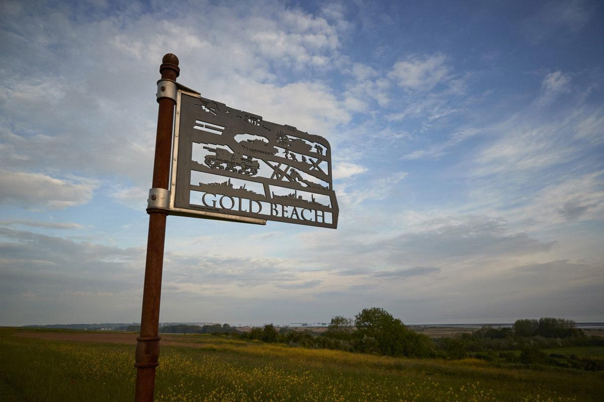 British Normandy Memorial, Waymarker Signs