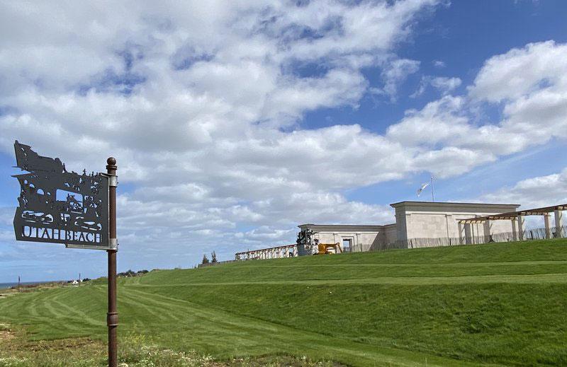 British Normandy Memorial, Waymarker Signs, Tnemec Company