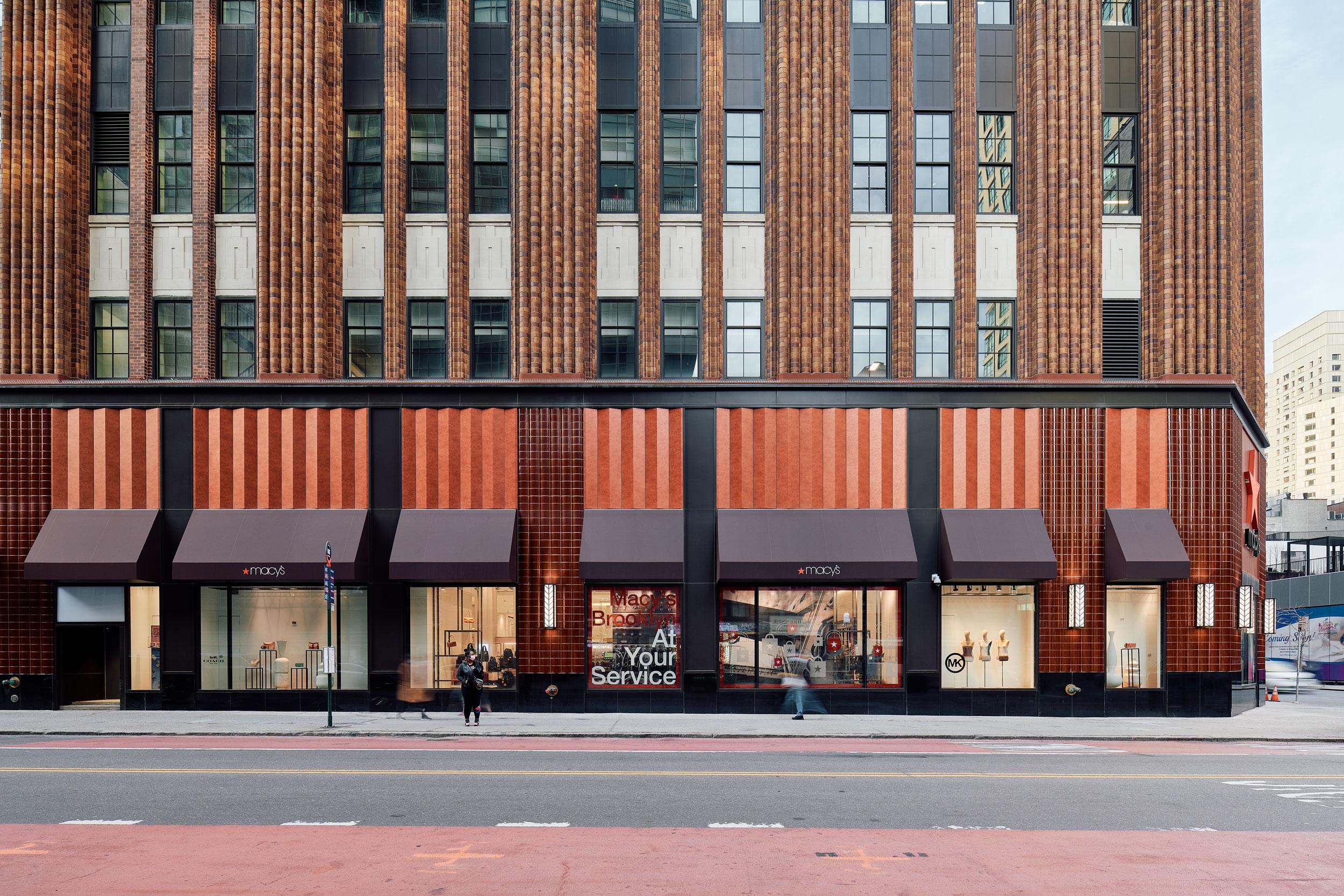 Brooklyn Historic Macys, Shimoda Design Group, New York, Pure Freeform, Lumiflon USA, REED Photographic