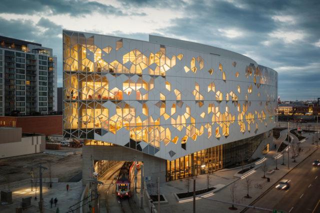 Calgary Public Central Library, Snohetta, DIALOG, Canada, Photography by Snohetta