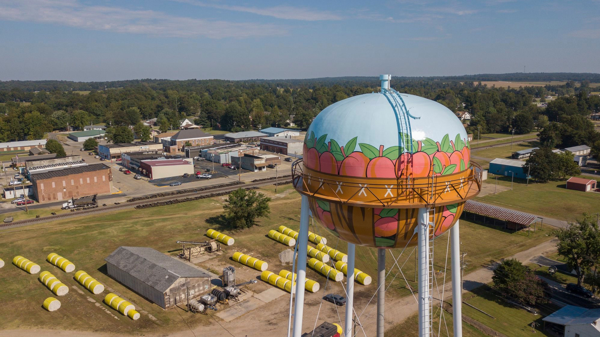 Campbell Missouri Water Tank, Waters Engineering, Maguire Iron, Tnemec Company Inc