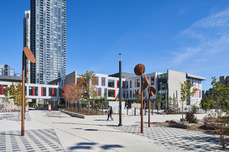 Canoe Landing Campus, Toronto, Ontario, Canada, ZAS Architects Interiors