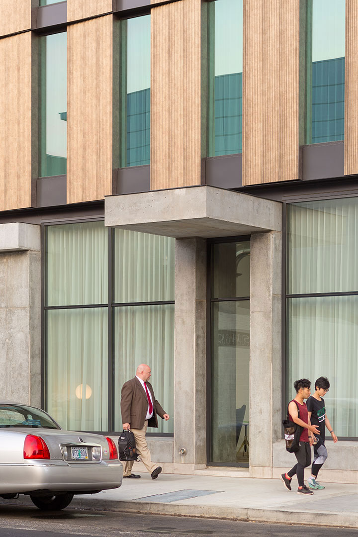 Canopy by Hilton, Portland, Oregon, ZGF Architects, Pure Freeform, Lumiflon, Josh Partee Photography