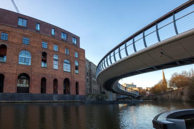 Castle Bridge, Finzels Reach, Bristol, UK, Photography Bristol Business News