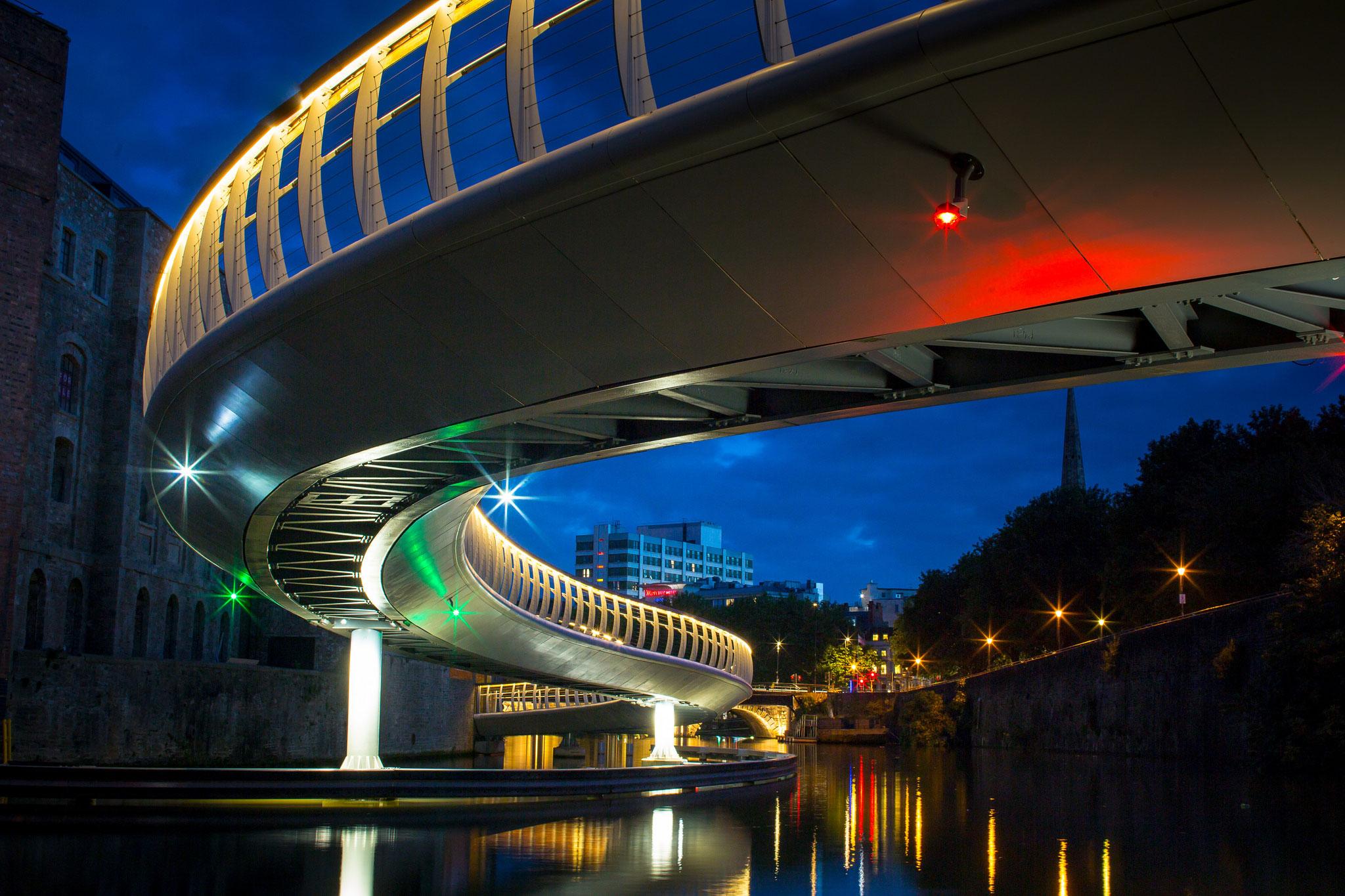 Castle Bridge, Finzels Reach, Bristol, UK, Photography Finzels Reach Bridge