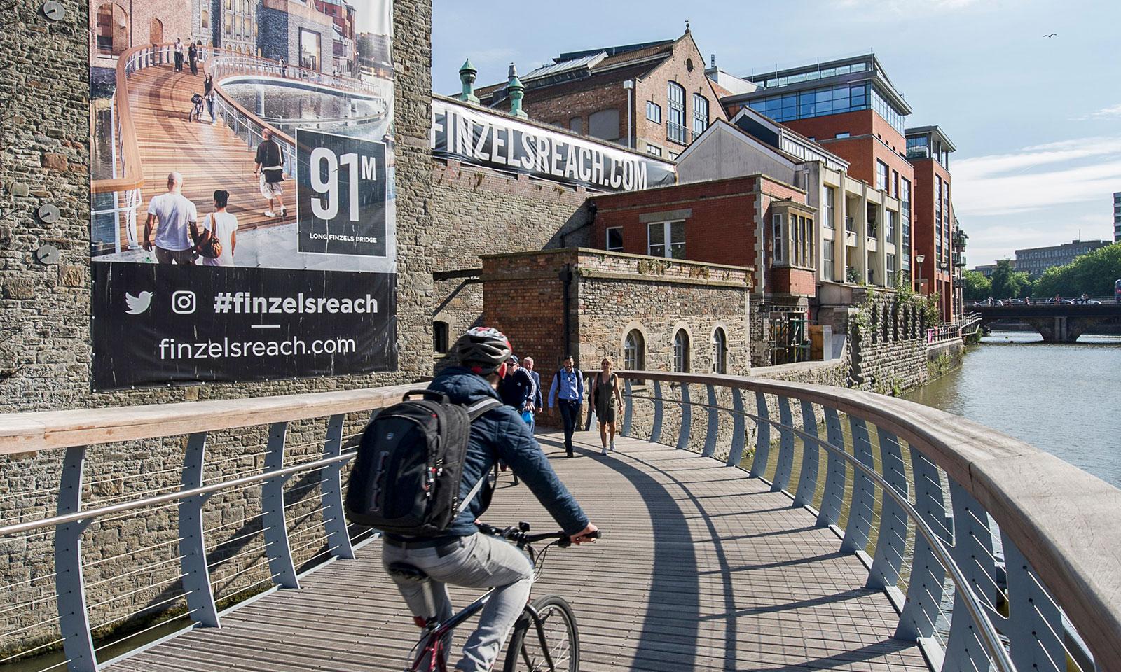 Castle Bridge, Finzels Reach, Bristol, UK, Photography Temple Point Finzels Reach