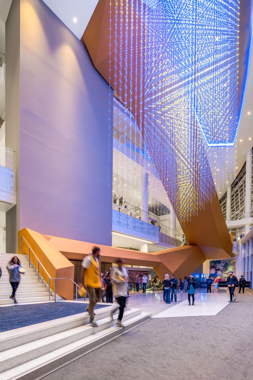 Chase Center, San Francisco, Gensler, Manica Architecture, Kendall Heaton Associates, LUMIFLON USA, Jason ORear Photography