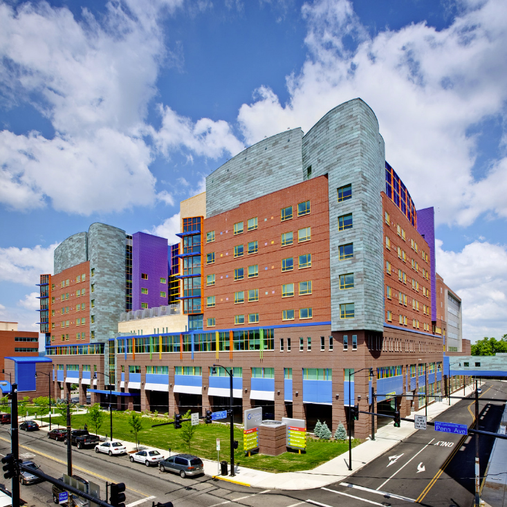 Childrens Hospital of Pittsburg of UPMC, PPG Coraflon, LUMIFLON FEVE Resin, Photography DM Products Inc