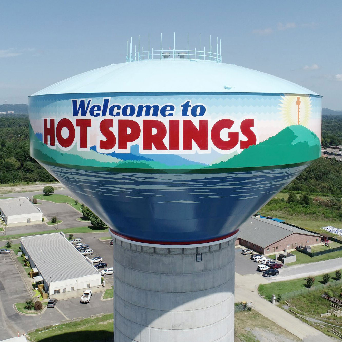City of Hot Springs, Arkansas, Water Tank, Tnemec Company