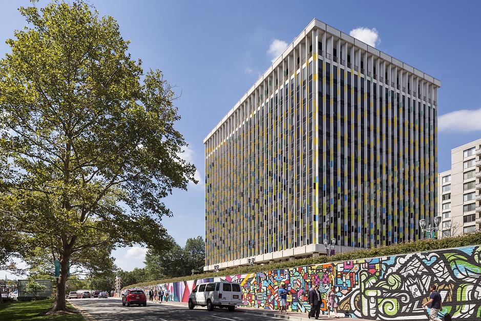 Crystal City Building 6, Perkins Eastman, Tnemec Company, Midatlantic Coatings