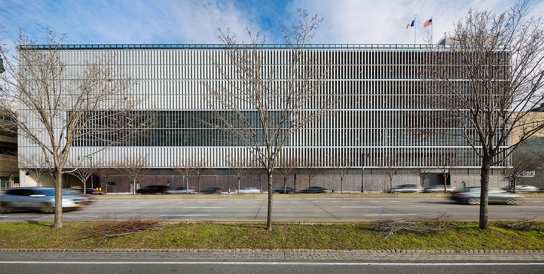 Dattner Architects, WXY Architecture Urban Design, 1 2 5 Garage, DSNY, Spring Street Salt Shed, Photo Albert Vecerka, Esto