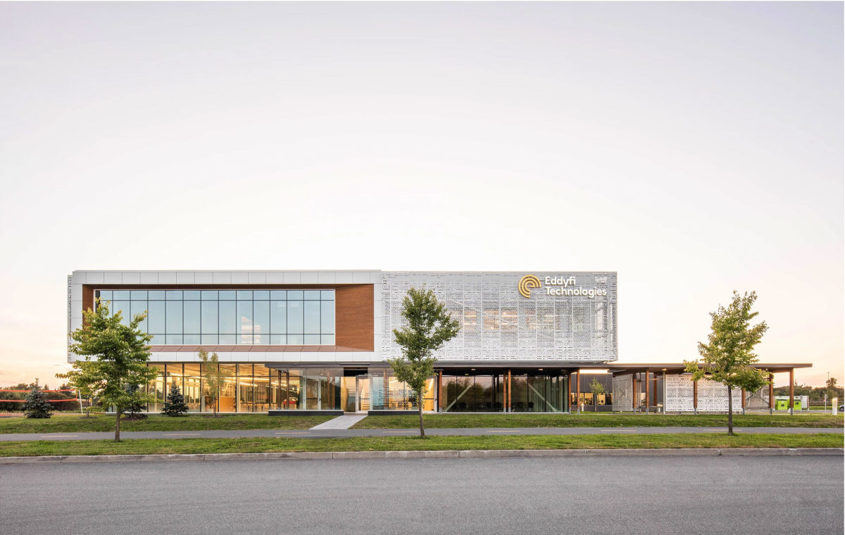 Eddyfi Technologies World Headquarters, Quebec, LEED, Coarchitecture