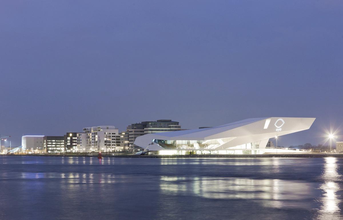 EYE Film Institute Amsterdam Netherlands Delugan Meissl Associated Architects ALPOLIC ACM Lumiflon FEVE Resin