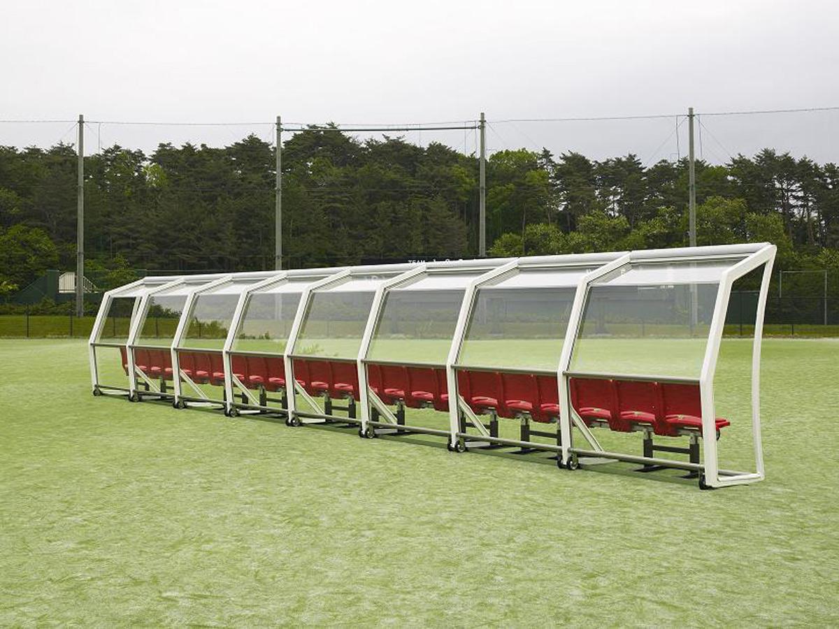 FIFA World Cup Brazil Glass Benches AGC Asahi Lumiflon FEVE Resin
