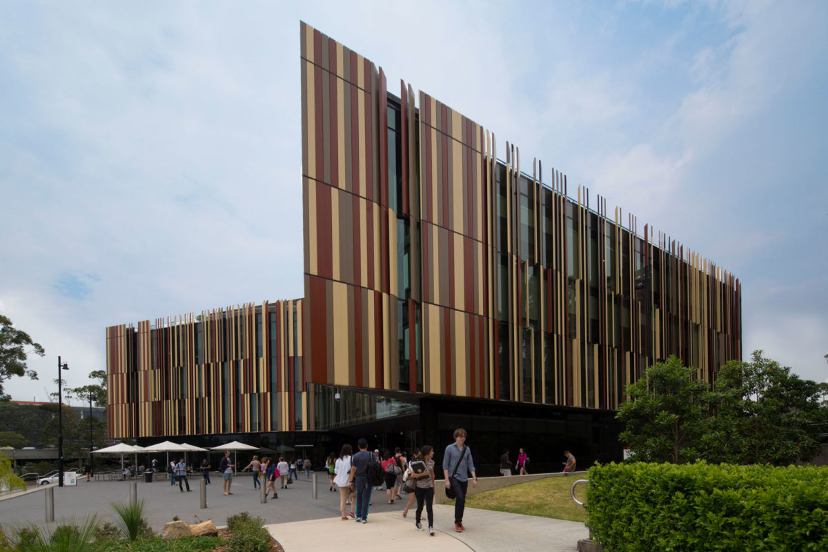 FJMT, Macquarie University NWS Library, Akzo Nobel, Interpon D3000, Fluoromax