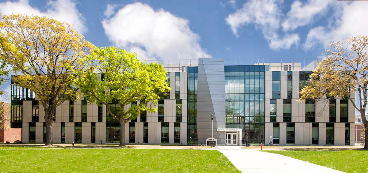 Farmingdale State College School Of Business Urbahn Architects ALPOLIC ACM Charcoal Mica Finish Lumiflon FEVE Resin