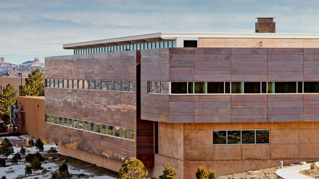 Gallup Technology Center University Of Gallup New Mexico RMKM Architects CCM Alpolic Lumiflon FEVE Resin