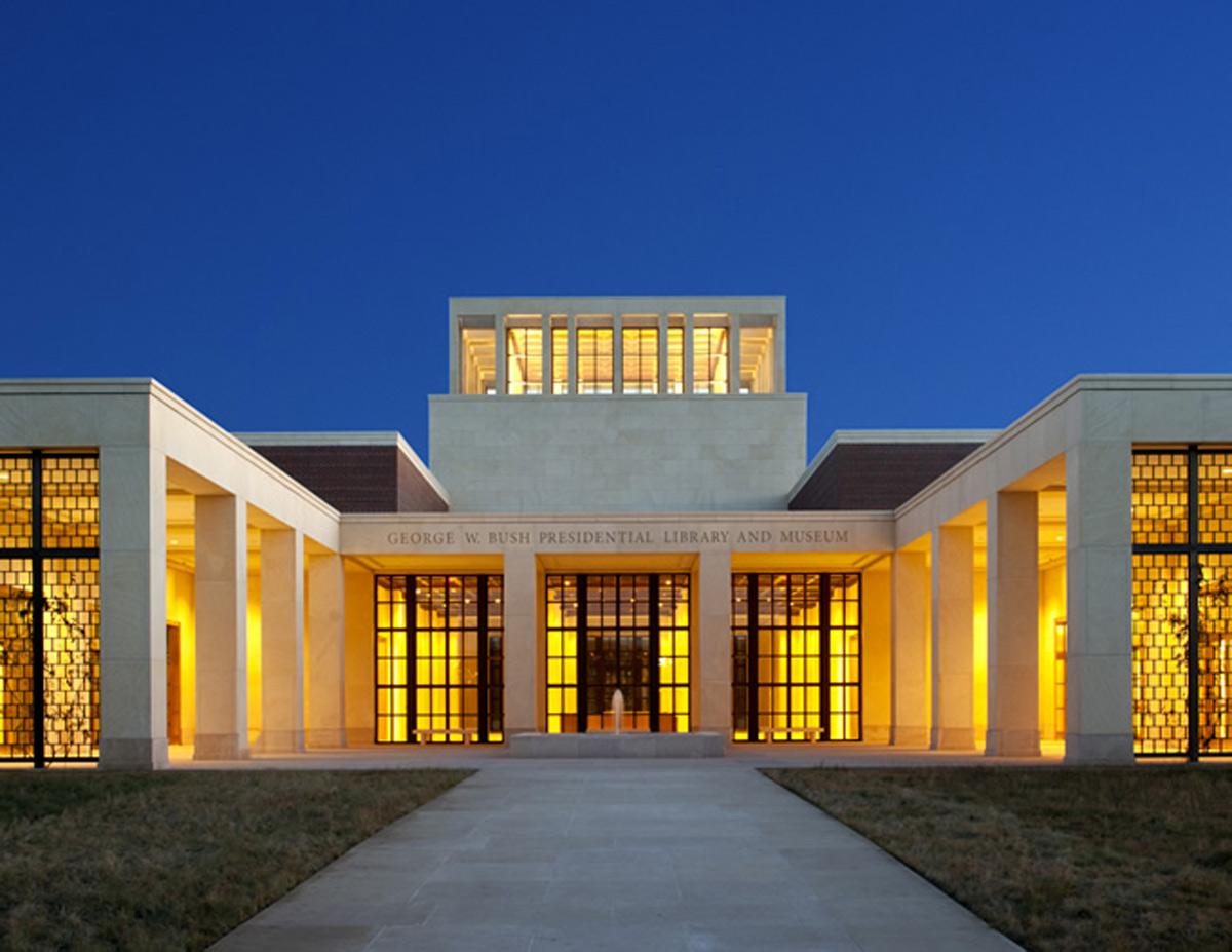 George W. Bush, Presidential, Center, Dallas, Robert AM Stern, PPG, Coraflon, ADS, Coatings, Lumiflon, FEVE, Resin, Photography, Robert AM Stern Architects