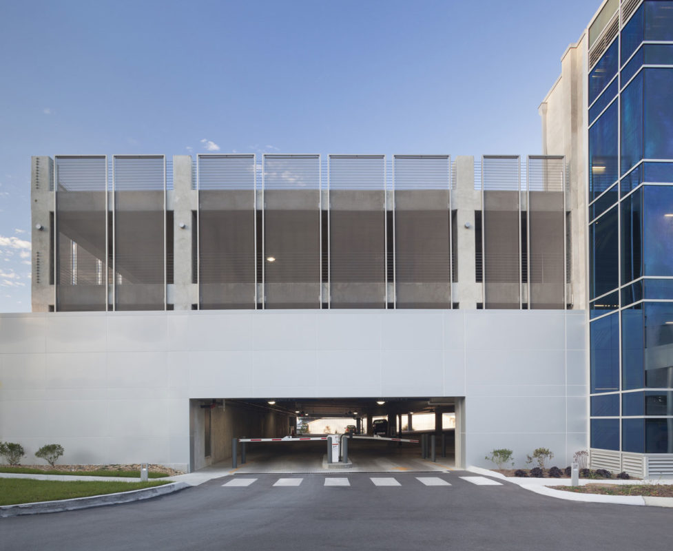 HCA Health Park Garage, Collaborative Studio, Fabricoil, Photography Cascade Architectural