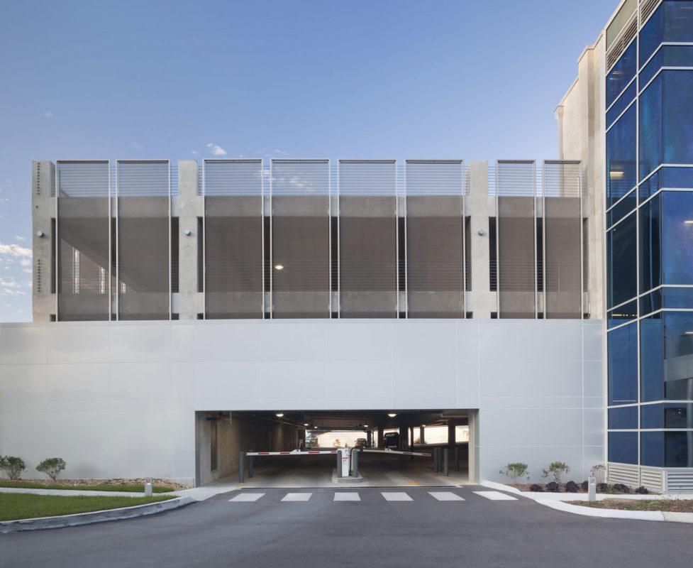 HCA Health Park Garage, Collaborative Studio, Fabricoil, Photography Cascade Architectural