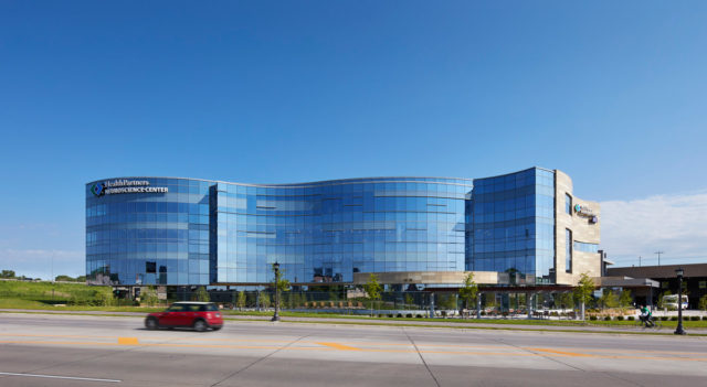 HealthPartners Neuroscience Center St. Paul Minnesota BWBR Pure Freeform Lumiflon FEVE Resin