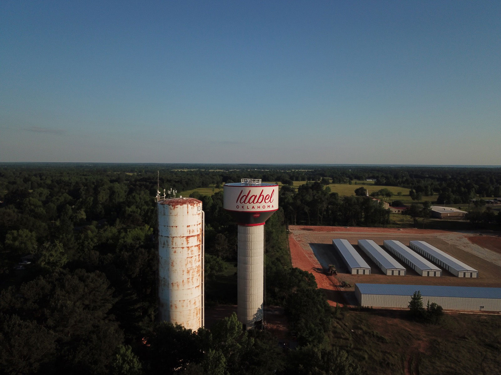 Idabel, Oklahoma, Induron, PermaGloss, Landmark Structures, Wall Engineering