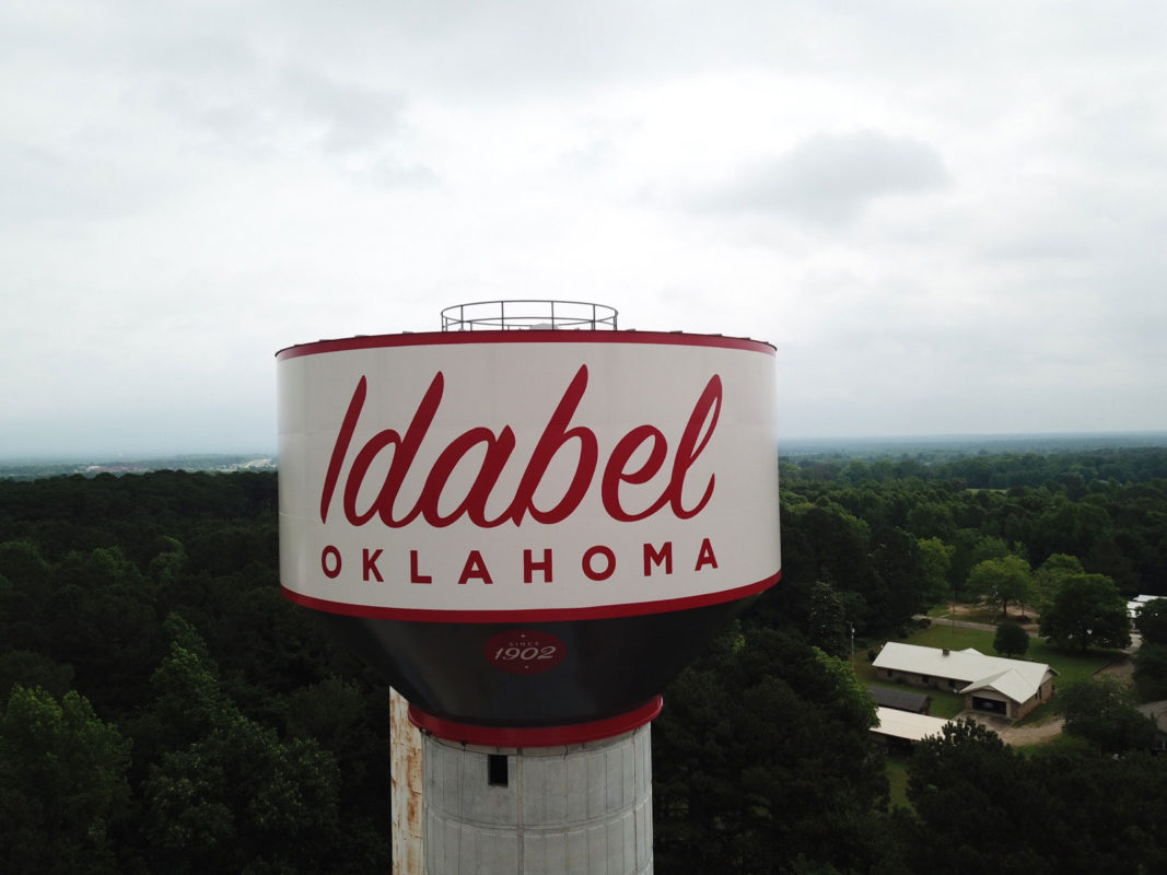 Idabel, Oklahoma, Induron, PermaGloss, Landmark Structures, Wall Engineering
