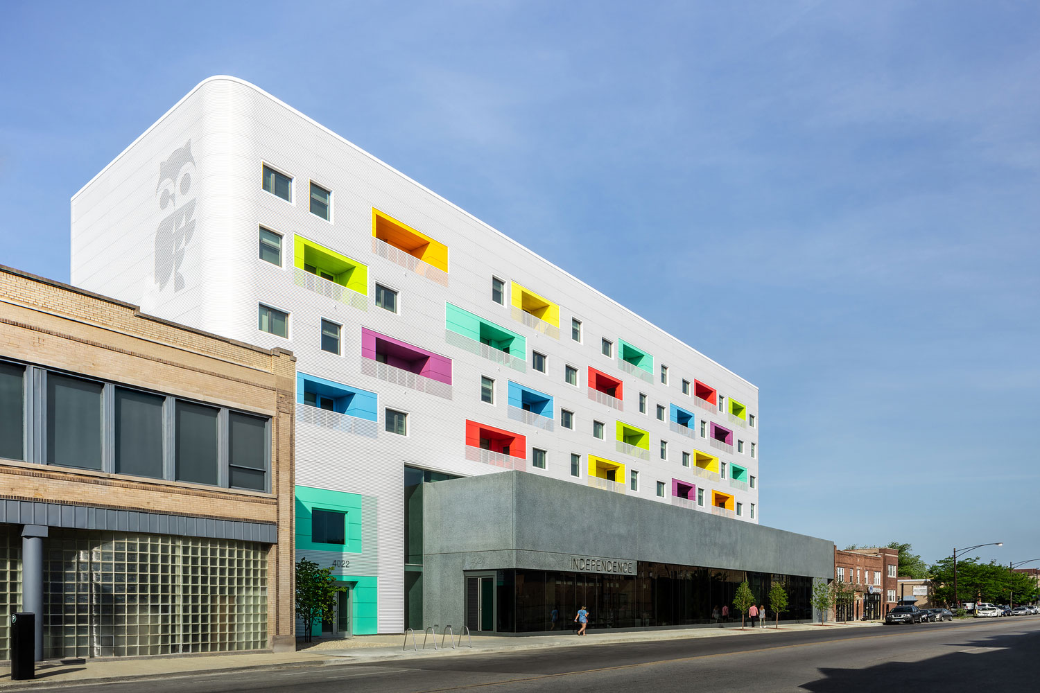 Independence Library and Apartments, John Ronan Architects, James Florio