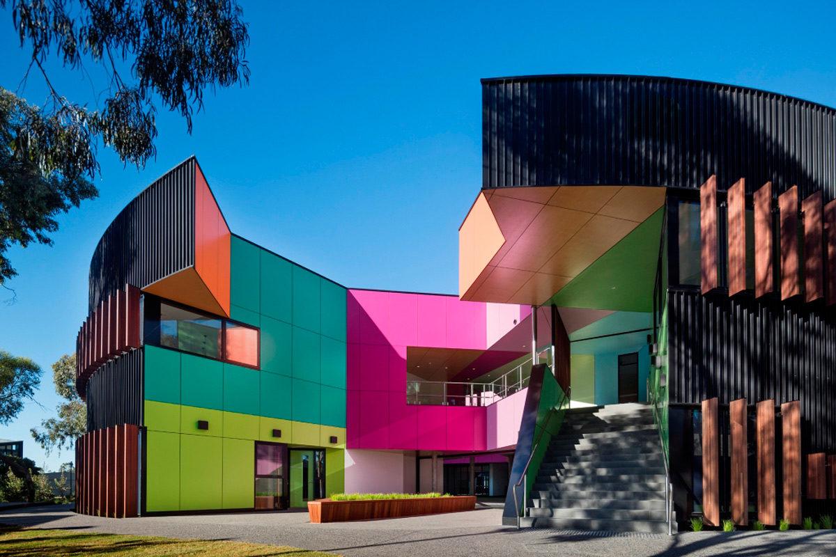 Ivanhoe Grammar School Melbourne Australia McBride Charles Ryan Viragroup Vitrapanel Fiber Cement A&I Coatings Vitreflon Lumiflon FEVE