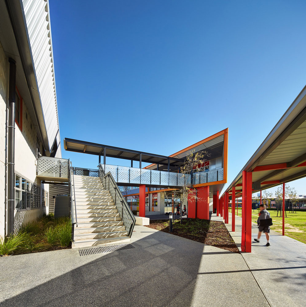 JCY Architects and Urban Designers, Baldivis Secondary College, Photography Peter Bennetts