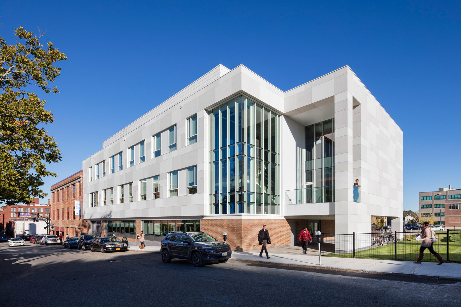 John J Bowen Center for Science Innovation, Johnson Wales University, Architectural Resources Cambridge, ARC, John Horner Photography