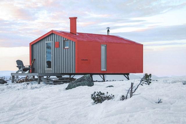 Kandalaksha Russia BIO Architects DublDom ALPOLIC Lumiflon FEVE Resin