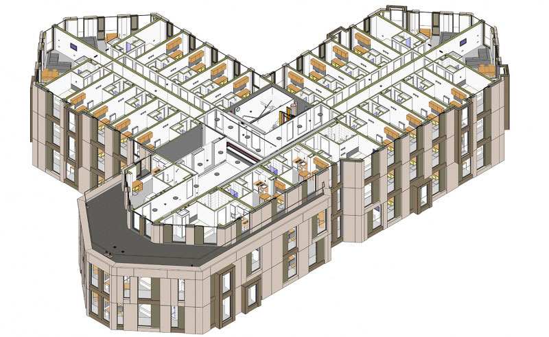 Karma House, Student Housing, Wembley, HTA Design