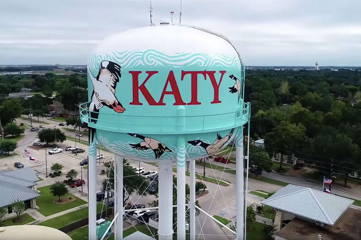 Katy City Water Tank Tnemec Tank of the Year HydroFlon Lumiflon FEVE Resin