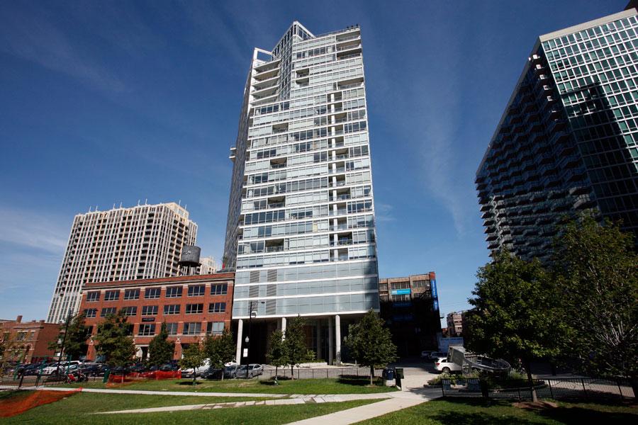 "LUMIFLON FEVE Resin, All-Tech Decorating Company, ""Erie On The Park"""