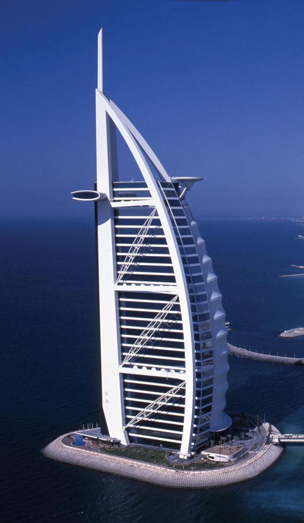 Burj Al Arab, UAE, ALPOLIC, LUMIFLON USA, Photography Satoru Mishima, Nikkei BP