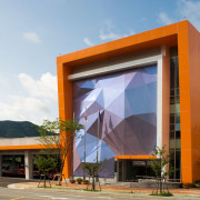 LUMIFLON FEVE Resin, Gijang Fire Station, Mitsubishi Plastics Composites America