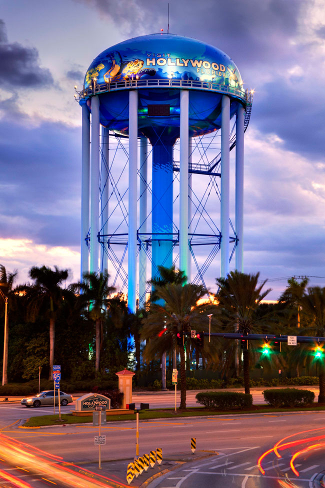 Hollywood Water Tank, Florida, Tnemec, LUMIFLON USA