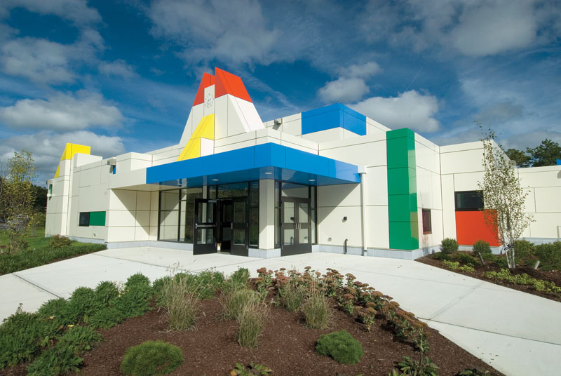 LUMIFLON FEVE Resin, Sacred Heart Early Learning Center, by Design Partnership of Cambridge, 1