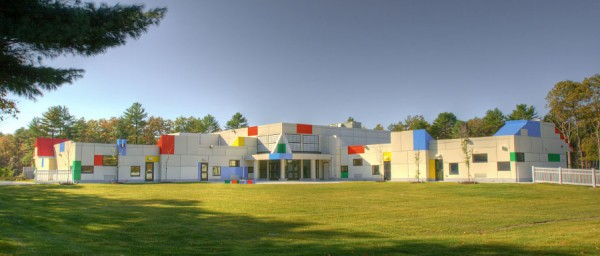 LUMIFLON FEVE Resin, Sacred Heart Early Learning Center, by Design Partnership of Cambridge, 2