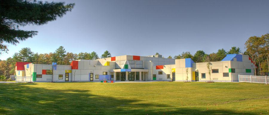 Sacred Heart Early Learning Center, Massachusetts, ALPOLIC, LUMIFLON USA, Photography Design Partnership of Cambridge Inc.