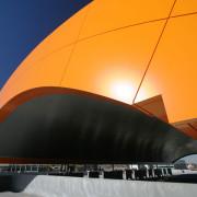 LUMIFLON FEVE Resin, Sorensen Station Parkade and Transit Terminal, Mitsubishi Plastics Composites America, 1
